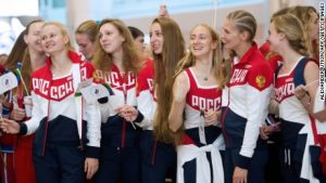 Banned? No problems – Russia holds its own Games