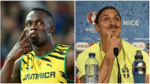 "Usain Bolt's message for Zlatan: ""I'll be watching you"""