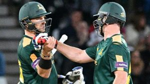 T20 Blast: Yorkshire, Essex and Durham join Nottinghamshire in quarter-finals