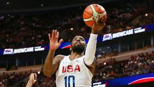 Irving, U.S. overcome off night, rout Venezuela