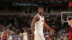 Butler enjoying his time in Chicago spotlight with Team USA