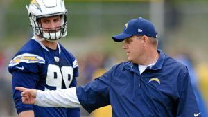 McCoy on Bosa holdout: 'He needs to be here'