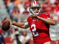 Niners' Blaine Gabbert a mixed bag vs. Texans