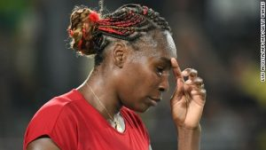 Venus Williams beaten in Olympic thriller