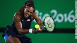 Ukrainian ends Serena's Olympic reign