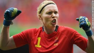 Swedes end US women's soccer reign