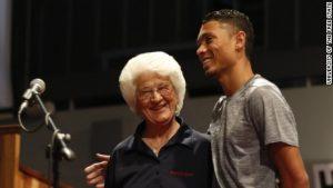 The 74-year-coach behind Van Niekerk's golden run