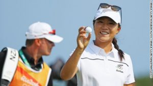 'Perfect' Olympic hole-in-one for No. 1 Ko