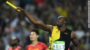 Bolt becomes Olympic immortal