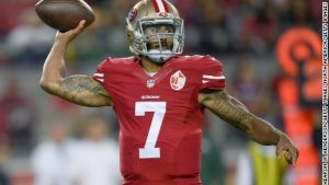 NFL's Kaepernick called an 'idiot' over protest