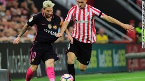 Barcelona joins early leaders at top of La Liga
