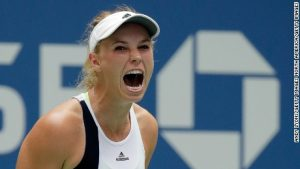 Wozniacki once again thriving at U.S. Open