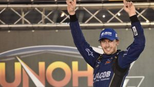 Ben Kennedy lives up to the family name in NASCAR Camping World Truck Series