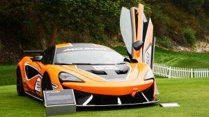 McLaren 570S GT4 makes US debut in Monterey