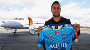 Jarryd Hayne: Former NFL player returns to rugby league with Gold Coast Titans