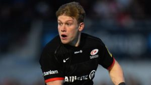 Nick Tompkins: Saracens centre signs new contract at Allianz Park