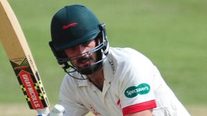 County Championship: Ned Eckersley hits third century for Leicestershire in a week