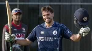Scotland v UAE: Calum MacLeod makes century in second ODI win