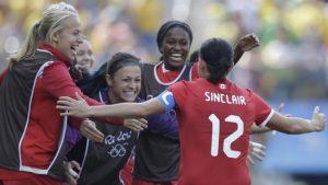 Canada beat Brazil to win Olympic bronze
