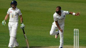County Championship: Warwickshire's Jeetan Patel helps to bowl out Durham