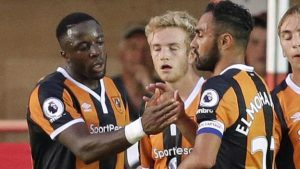 Diomande double fires Hull into next round