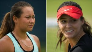 US Open: Laura Robson and Tara Moore reach second round of qualifying