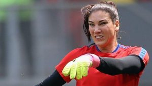 US keeper Solo suspended for 'cowards' comment