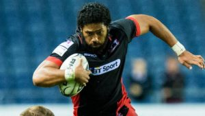 Edinburgh Rugby: Sasa Tofilau – from 'jungle rugby' to Pro12