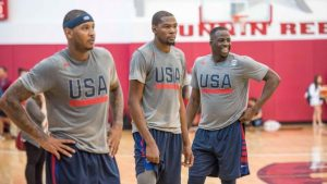 USA Men's and Women's Basketball will stay on a cruise ship in Rio