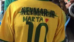 LOOK: Brazilian kid sick of Neymar, edits jersey to women's star Marta instead