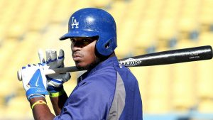 Report: Dodgers' Puig not with team for road trip