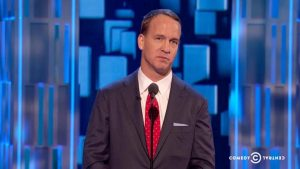 WATCH: Peyton Manning drops a Deflategate joke at Rob Lowe roast