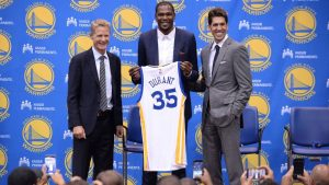 Kerr: 'Absurd' to refer to Durant as a villian