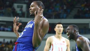 Durant, U.S. clobber China to open up Rio run