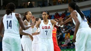 Reaction to U.S. women's hoops sixth straight gold medal