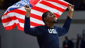Durant: Time with Team USA 'therapy for me'