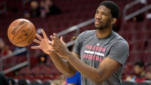 Sixers' Embiid feels '100 percent,' ready to play
