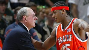 Boeheim says Melo 'unlikely to win an NBA title'