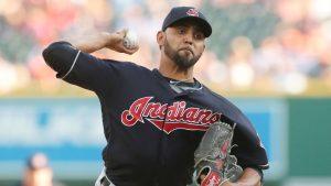 Indians move RHP Salazar onto paternity list
