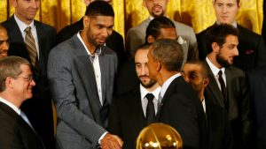 Tim Duncan turned down President Obama's invitation to Rio Olympics