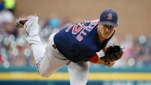 Porcello outduels Fulmer in battle of pitchers traded for Yoenis Cespedes