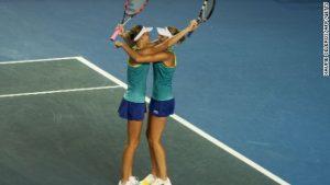 Meet half of tennis' new sister act