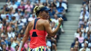 Kerber wins thrilling US Open final