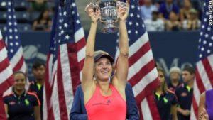 Kerber on US Open triumph