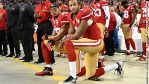 Protests overshadow NFL's opening round