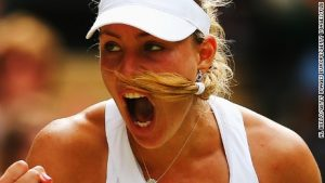 Kerber's hairy bet with her coach