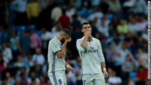 Real Madrid misses chance to set new La Liga record