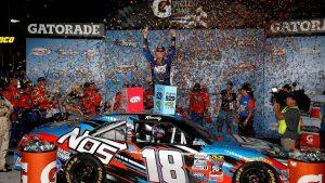 Kyle Busch and Toyota win NASCAR Xfinity race at Richmond