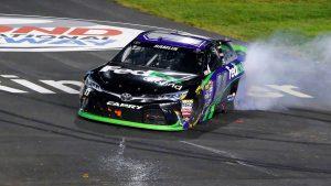 Denny Hamlin and Toyota win NASCAR Sprint Cup regular season finale at Richmond