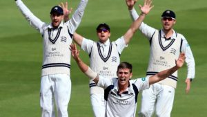 County Championship: Middlesex on top but facing final-day Edgbaston rain threat